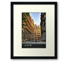 London, Great Scotland Yard Framed Print