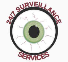 Surveillance Eye by Almdrs