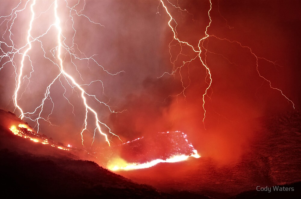 """""""Wrath - Fire and Lightning"""" by Cody Waters 