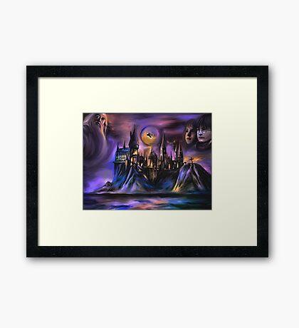 The Magic castle  I Framed Print