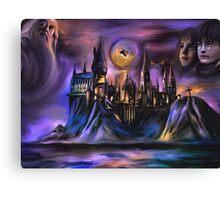 The Magic castle  I Canvas Print