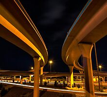 Two Lanes by IOBurque