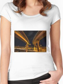 Two Lanes Women's Fitted Scoop T-Shirt