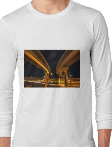Two Lanes Long Sleeve T-Shirt