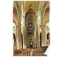 The Cathedral of Our Lady of Amiens Poster
