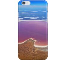 Lake Eyre - Aerial View iPhone Case/Skin