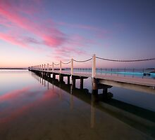 Reflective pools - Narrabeen by Adam Smith