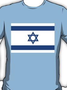National flag of the State of Israel - high quality authentic file T-Shirt