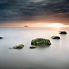 Dead calm at Ailsa Craig by maxblack