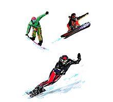 Air dance - Snowboard Photographic Print