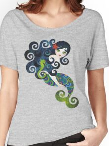 Aquamarine, the Teenage Mermaid Women's Relaxed Fit T-Shirt