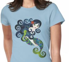 Aquamarine, the Teenage Mermaid Womens Fitted T-Shirt