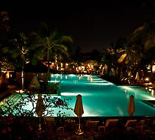Poolside at the Padma by Keith Irving