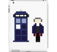 Pixel 12th Doctor and TARDIS iPad Case/Skin