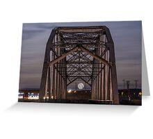 Moon Bridge Greeting Card