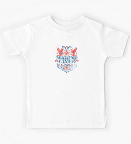 Gay Marine t shirt Kids Tee