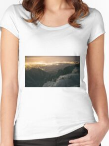 Down the Path Women's Fitted Scoop T-Shirt