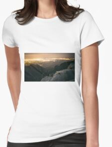 Down the Path Womens Fitted T-Shirt