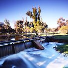 GinGin park waterfall by daniellestacey