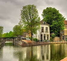 "Dutch Old Town ""Schiedam"" by Hans Kool"