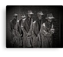 Another Generation of Americans has a Rendezvous with Destiny Canvas Print