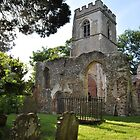 Ruined Church ~ Ayot St Lawrence, Hertfordshire ~ June 2010 by Samantha Creary