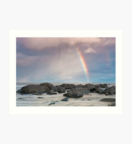 Augusta Rainbow Art Print