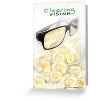 Clearing Vision © Vicki Ferrari Greeting Card