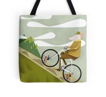 Hamster Cyclist Road Bike Poster Tote Bag