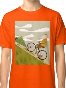 Hamster Cyclist Road Bike Poster Classic T-Shirt