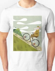 Hamster Cyclist Road Bike Poster T-Shirt