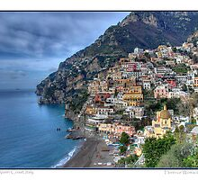 Almafi Coast, Italy by Florence Womacks