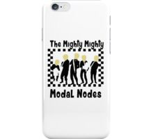 The Mighty Mighty Modal Nodes iPhone Case/Skin