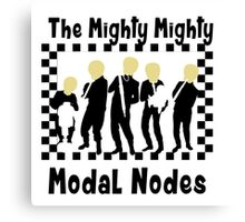 The Mighty Mighty Modal Nodes Canvas Print