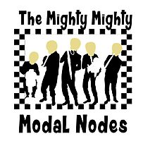 The Mighty Mighty Modal Nodes Photographic Print