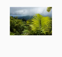 Tropical Rainforest - Jungle Green and Rain Clouds Unisex T-Shirt