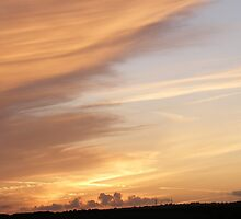 Sunset in kent by roggcar