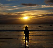 Frankie silhouetted  by Jacqe Matelot