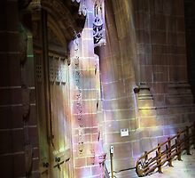 light through the windows - Liverpool Cathedral by tm20tm