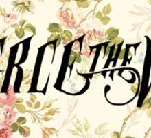 Pierce The Veil(flower background) Sticker