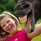 Haha Stop Horsing Around! :) by John Anthony Photography