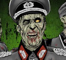 Nazi Zombies Must Die! Sticker Sticker
