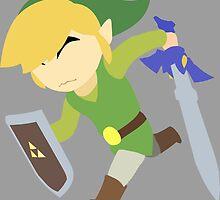 The Legend of Zelda: Wind Waker | Minimalist by holycrow