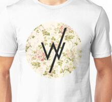 Sleeping With Sirens(flower background) Unisex T-Shirt