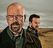 Breaking Bad painting by PaulMeijering