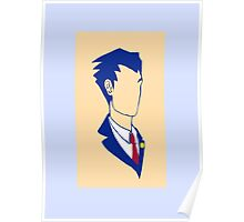 spiky-haired lawyer dude Poster