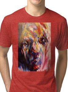 Abstract Portrait Tri-blend T-Shirt