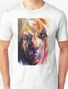 Abstract Portrait Unisex T-Shirt