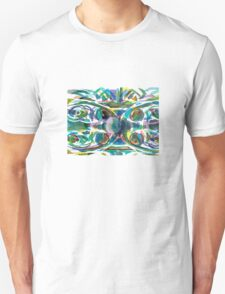 Peacock Abstract T-Shirt