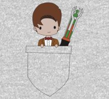 Pocket Who! (Eleventh Doctor) Kids Tee